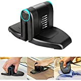 Colilove Folding Mini Collar Iron,Portable Electric Mini Iron Double Ironing with Anti Slip Handle and Non-Stick Soleplate Portable Hand Held Clothing Steam Power Iron for Home Travel Business