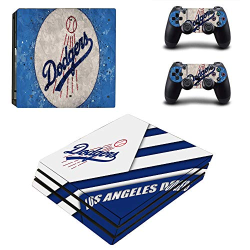 KALINDA MODI PS4 Pro Skin and DualShock 4 Skin - Baseball Team Profesional - PlayStation 4 Pro Vinyl Sticker for Console and Controller Skin (OnlyPlayStation 4 Pro)