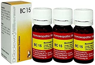 Dr.Reckeweg Germany Biochemic Combination Tablet Bc 15 Pack of 3