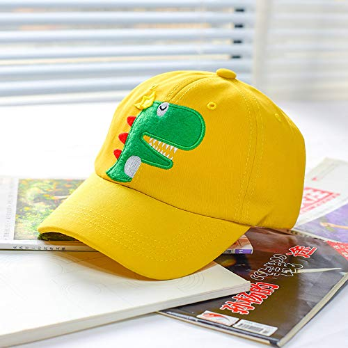 Gorra para niños Primavera y Verano niños Lindo Sombrero de Dinosaurio Sombrero para el Sol Moda Gorra de béisbol Coreana para bebés Marea de Primavera y otoño