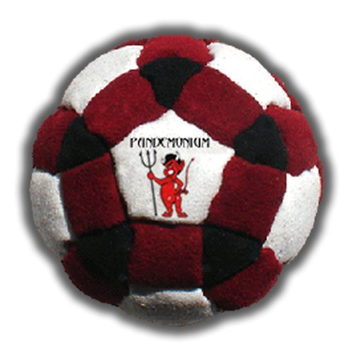 Volcano Footbag 14 Panels Hacky Sack Pro Bag Sand /& Iron Weighted At 2.1 Onces