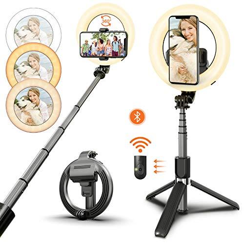 Palo Selfie Tripode Bluetooth Marca HMEDA