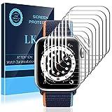 LK 8 Stück Schutzfolie kompatibel mit Apple Watch Series 6 SE 40MM, Kompatibel mit Hülle...