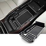 SKTU per M azda CX-30 2019 2020 vano portaoggetti bracciolo portaoggetti multifunzione per console centrale, contenitore con supporto antiscivolo (bianco)