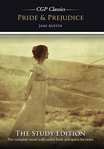 Pride and Prejudice by Jane Austen Study Edition (CGP GCSE English 9-1 Revision) (English Edition)
