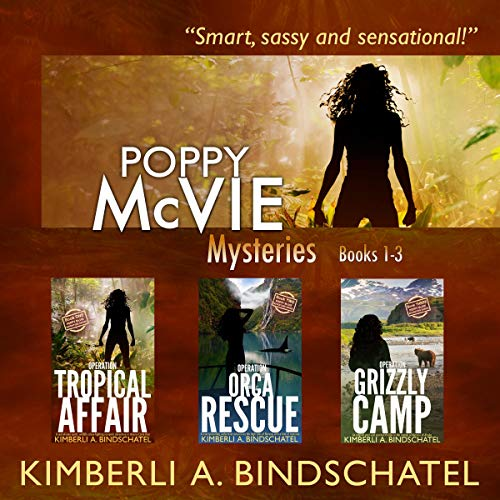 Poppy McVie Mysteries: Books 1-3  audiobook cover art
