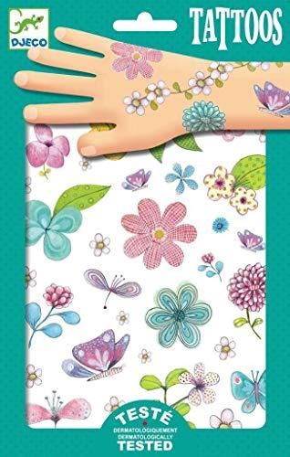 Djeco DJ09585 - Tattoos - Fair Flowers of the Field