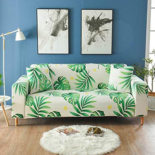 ASCV Fundas de sofá elásticas elásticas para Sala de Estar Funda de sofá en Forma de L Funda de sillón seccional Fundas de Muebles A4 4 plazas
