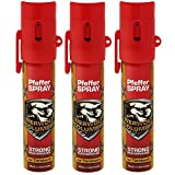 Familien Set 3 x Werwolf Columbia Pfefferspray für Sie und Ihn Verteidigungsspray Pfeffer Spray Breitstrahl 3 x 20ml