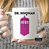 N\A Tazza Dr Whoman Parodia Doctor Who Pastiche 13th Doctor Who Donna Dr Who Doctor, 11oz