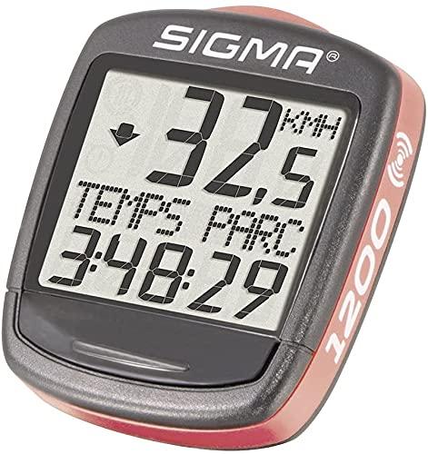 Fahrradcomputer Sigma BC 1200 Funk Fahrradtacho Tachometer Geschwindigkeit kabellos