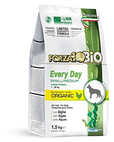 Forza10bio Crocchette al Pollo con Alghe per Cani Taglia P/M, Bio - 1500 gr