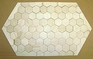 WOODNSHOP Board Game Frame #14 - 65 Hexagons