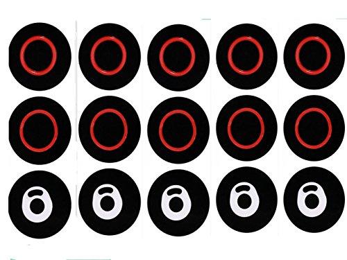 dekpro 5 Sets Ersatz Dichtungsring O Ring für Smok tfv8 X Baby Cloud Beast Zubehör O Ringe Silikon Dichtung Dichtungen