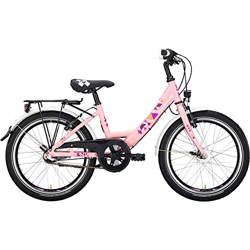 Noxon ATB Rocky ND Wave 24Zoll RH 36cm Light pink Fahrrad
