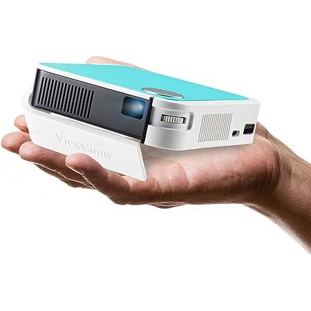 ViewSonic M1 Mini+ Smart Wi-Fi Ultra Portable LED Projector with Bluetooth JBL Speaker, USB Type C, Automatic Vertical Keystone
