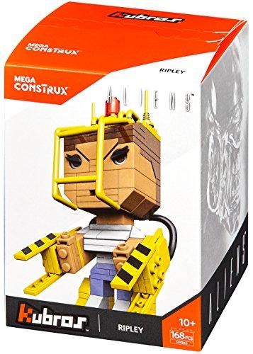 Mattel Mega Cons Trux dxb85–Collectors kubros Ellen de Ripley Alien, Juguete