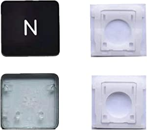 Replacement Individual AP11 Type N Key Cap and Hinge for MacBook Pro Model A1425 A1502 A1398 for MacBook Air Model A1369/A1466 A1370/A1465 Keyboard to Replace The N KeyCap and Hinge