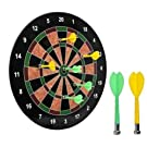 """16"""" Official Size Magnetic Dartboard with 6 Darts included"""