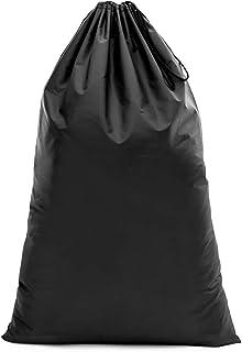 【Y.WINNER】特大サイズ 巾着袋 収納袋 (106*70CM) 強力撥水加工 アウトドア キャンプ 旅行 バッグ 万能巾着袋 大きいサイズの着替え袋にも使える YWN99107K ブラック (106*70)