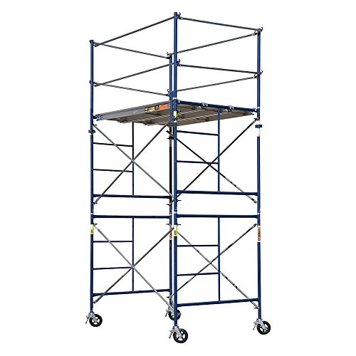 Metaltech SAFERSTACK Complete 2-Section High Tower Scaffolding System, Model Number M-MRT5710