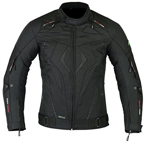 RIDEX CJ10 AirPass - Chaqueta impermeable para motocicleta para hombre