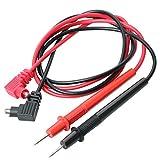 TRIXES Cavi di test per multimetro rosso e nero Sonda Ricambio Test digitale