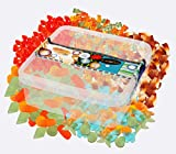 Deine Naschbox - Zuckerfreie Fruchtgummi Weingummi Naschbox - 5 Sorten - 1kg