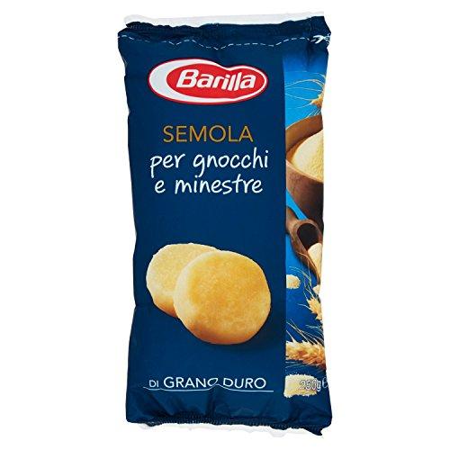 Barilla Semola di Grano Duro ideale per Gnocchi e Minestre, 250 gr
