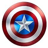 AVENGERS B8385E480 Marvel Legends Capitan America - Scudo in metallo per 75° anniversario, taglia unica