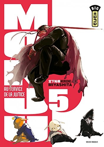 Monju, au service de la justice - Tome 5