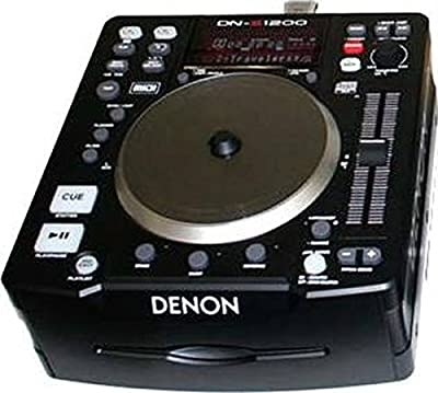 Denon DNS1200 Single Disc DJ CD Player by Denon