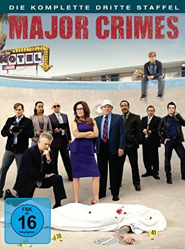 Major Crimes - Die komplette dritte Staffel [4 DVDs]