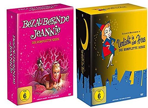 Bezaubernde Jeannie - Die komplette Serie (20 DVDs) + Verliebt in eine Hexe - Die komplette Serie (34 DVDs)