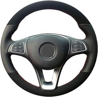 CYBHR Car decoration Auto Automotive interior Car Steering Wheel Cover,for Mercedes-Benz C180 C200 W205 C300 B200