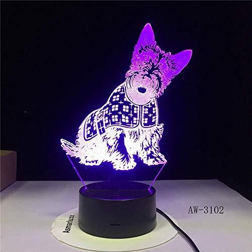 3D-3102 nachtlampje voor honden en kinderen