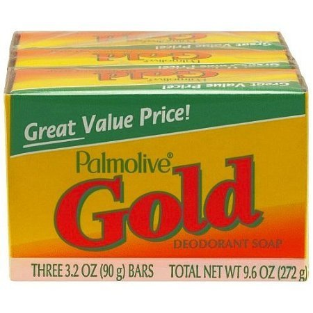 Palmolive GOLD Deodorant All Family Soap. (4 Pack. 12 bars). iwgl