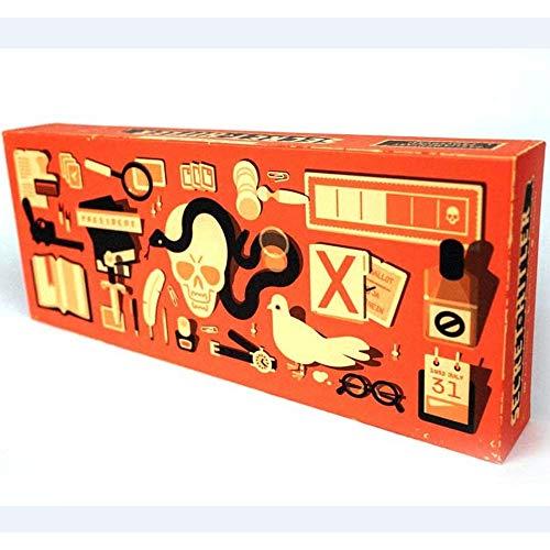Secret Hitler Crazy Party Brettspiele Kartenspiele für Erwachsene EIN verstecktes Identitätsspiel Anti-Menschliches Kartenspiel mit Freund und Familie (Wer ist Hitler?)