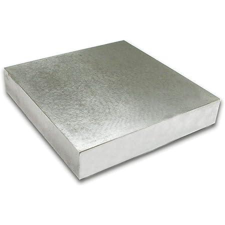 Bloc Solide de Banc pour Fabrication de Bijoux Outil Carr/é DEnclume en M/étal 3Cm IPOTCH Bloc de Banc en Acier de M/étal de 6.3 6.3