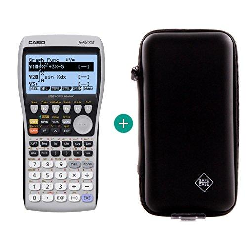 Casio FX 9860 GII + Schutztasche
