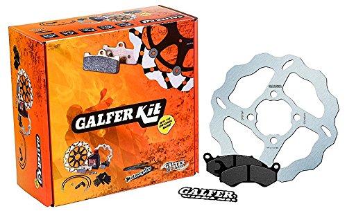 GALFER - Kit disco sobre dimensionado y pastillas delantero Suzuki y Yamaha