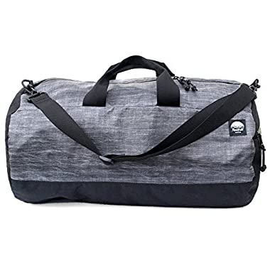 Flowfold Conductor Duffle Bag - Ultralight Travel Bag - Made in the USA - Heather Grey