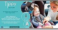 Ricevi avvisi sullo smartphone se ti allontani dall' auto con il bambino ancora all' interno. Durata batteria 3 anni Possibilità di gestire fino a 3 dispositivi Applicazione compatibile con sistema iOs e Android Facilmente installabile su tutti i seg...