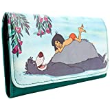 Cartera de Disney Jungle Book Baloo y Mowgli Verde