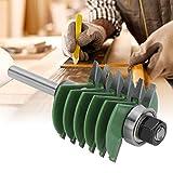 Fresa de espiga, práctica broca de enrutador de alta resistencia, carpintero de vástago de 8 mm para carpintería