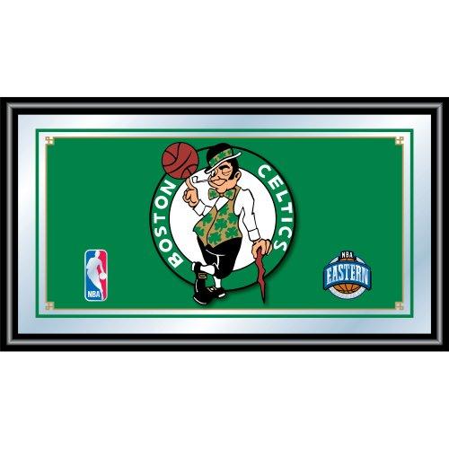 NBA Boston Celtics Framed Logo Mirror