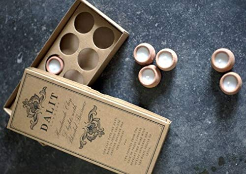For Box 10 Mini Scented Terracotta Pot Candles Dalit Goods Rahul Lavender Gift Idea Panami supplier for home & garden HOME DECORD
