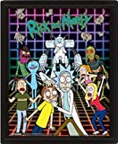 Rick & Morty - Poster 3D Characters Grid