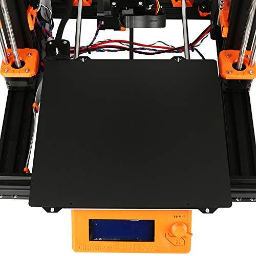 Stampante 3D Calore Letto Doppio Lato Strutturato PEI Primavera Polvere Rivestito Lamiera di Acciaio Costruire Piastra per Prusa I3 MK3