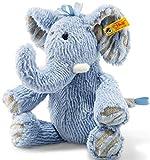Steiff 64869 Elefant, blau, 30 cm